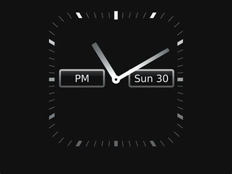 themes clock blackberry fullscreen clock app similar to the one on the bb 9300