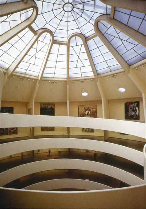 Guggenheim New York Interior by Ufan Hans Feldmann At The Guggenheim Museum By