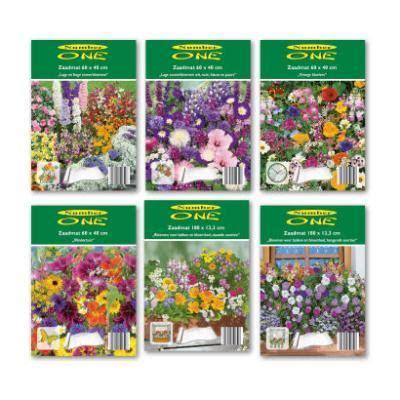 aanbieding tuin aarde zaadmatje zomerbloemen aanbieding week 12 2016 aldi