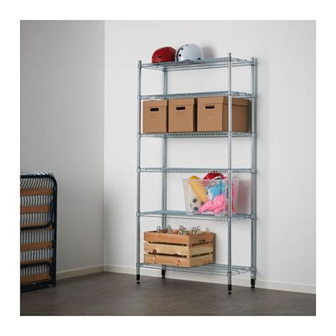 Ikea Omar Unit Rak 1 omar 1 section shelving unit ikea