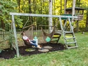 swing set for grown ups pretty handy