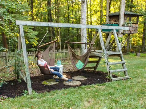 how to build a swing set for adults swing set for grown ups pretty handy girl