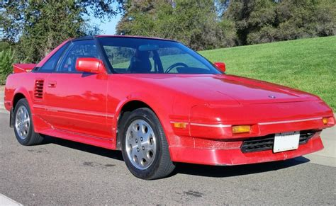 toyota mr2 1989 1989 toyota mr2 supercharged bring a trailer
