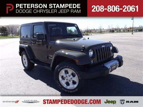Peterson Chrysler by The 2015 Jeep 174 Wrangler Take It To The Trail Peterson