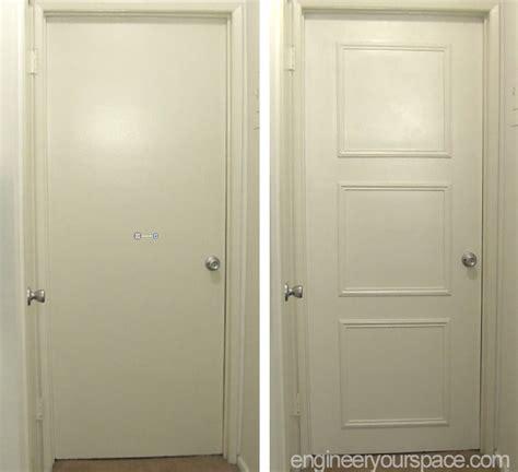 Easy Door by Easy Door Upgrade With Moulding Smart Diy Solutions For