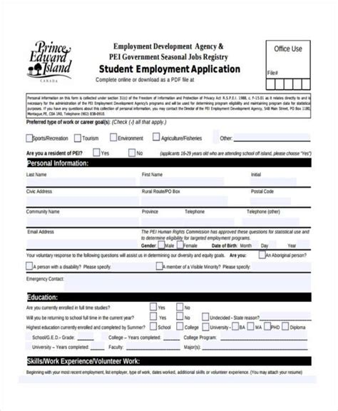 recruitment agency registration form template sle registration forms 9 free documents in word pdf