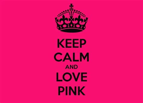 imágenes de keep calm and love keep calm and love pink poster pink keep calm o matic