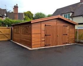 Wooden Garage Wooden Garages Uk Timber Garages For Sale Tunstall