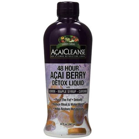 Acaicleanse 48 Hour Detox Test by Garden Greens Acaicleanse 48 Hour Detox Acai Berry 32