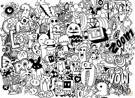 doodle alley custom name doodle colouring pages graffiti banksy