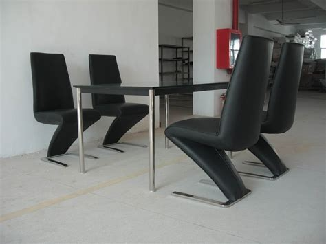 contemporary dining chairs leather the wooden houses