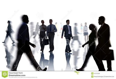 imagenes de gente cool siluetas del negocio y de caminar casual de la gente foto