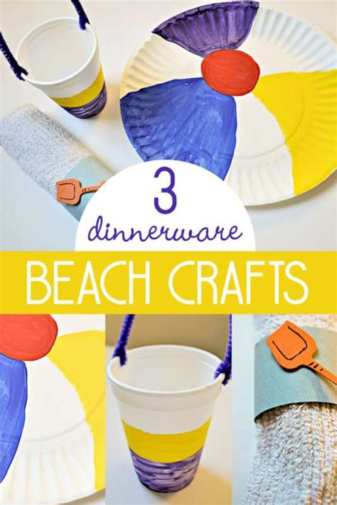 summer themed crafts for 3 sizzlin crafts for to make for dinnerware