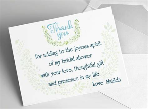 Sle Thank You Cards For Baby Shower by Sle Of Thank You Notes For Wedding Gifts Gift Ftempo