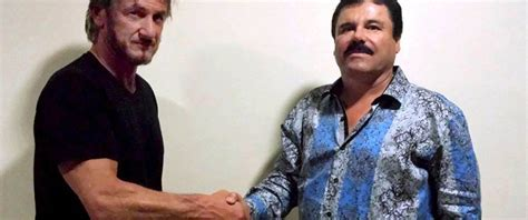 el chapo drug lord mexican authorities want to speak with sean penn about el