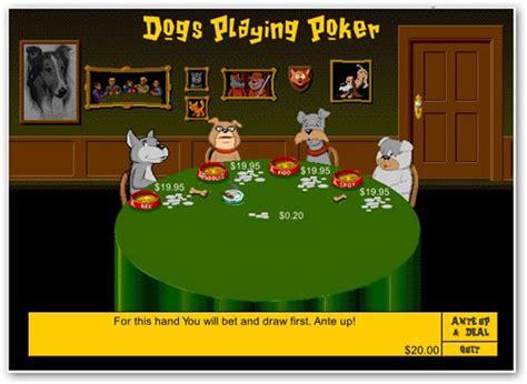 imagenes de animales jugando poker perros jugando al p 243 quer ion litio