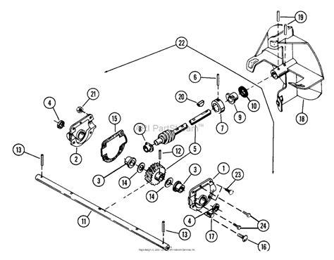 ariens parts diagrams ariens 924048 024501 st724 7hp tec 24 quot blower