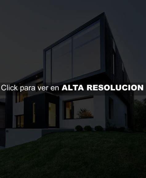 imagenes en blanco y negro modernas fachada de casa multivolumen en blanco y negro fachadas