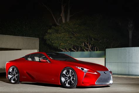 lexus concept coupe lf lc sport coupe concept big hit in detroit