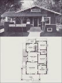 1920s Craftsman Home Design 1920s Craftsman Bungalow House Plans