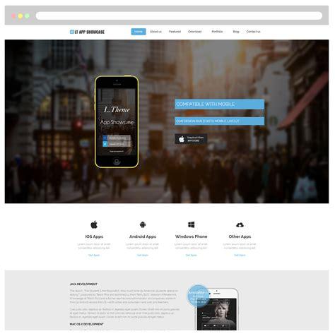 app showcase themes lt app showcase free responsive application showcase