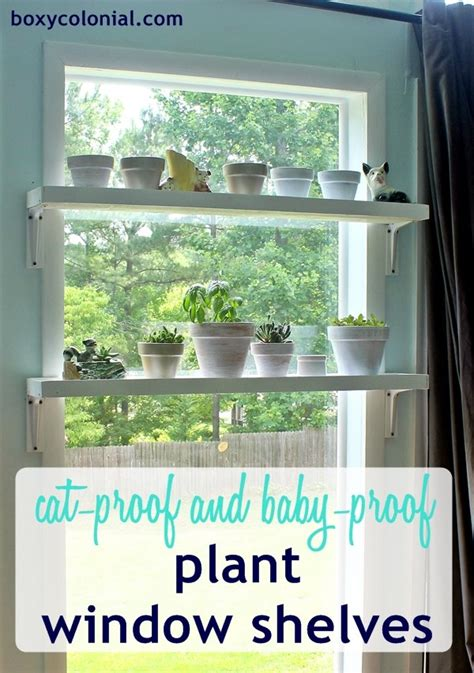 window plant shelves diy window plant shelves