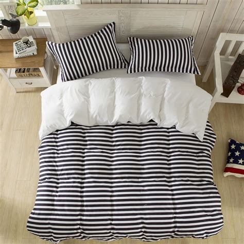 striped bedding black and white stripe from sininlinen lucky textile black and white stripe bedding set duvet