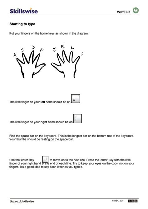 Keyboarding Worksheets by Best Photos Of Printable Keyboarding Worksheets