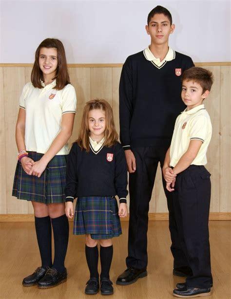 estudiantes en falditas uniforme escolar falda escocesa seg 250 n dise 241 o femenino