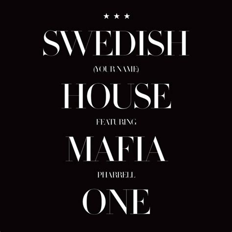 Single Name by One Chanson De Swedish House Mafia Wikip 233 Dia