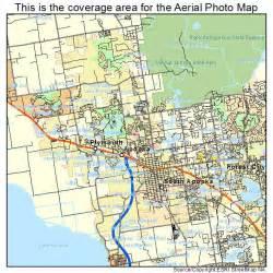 aerial photography map of apopka fl florida