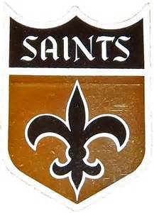 new orleans saints colors the best and worst nfl logos nfc south grayflannelsuit net