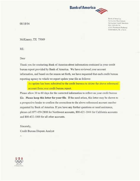Letter Of Credit Usa Bank Of America Letter Of Credit Letter World