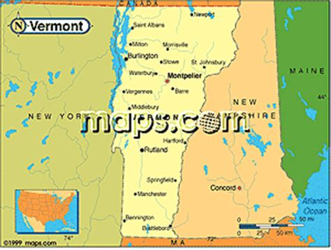 printable vermont road map vermont maps and guides wall maps road maps