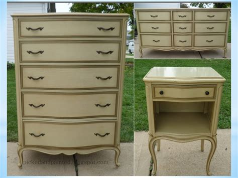 french provincial bedroom set painting laminate or formica tops of dressers the purple