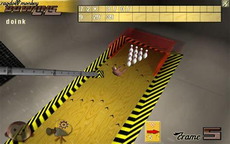 rag doll monkey ragdoll monkey bowling flieg affe