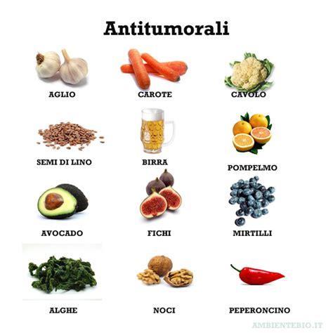 alimenti tumorali alimentazione e salute prevenzione antitumorale