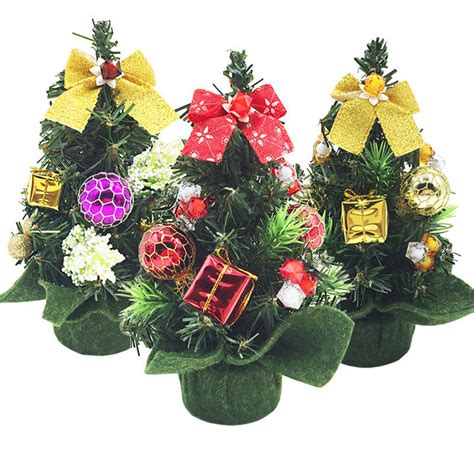 mini small tiny artificial christmas tree holiday indoor