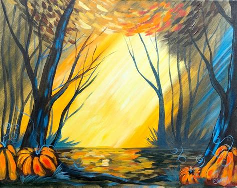 acrylic painting tutorial landscapes fall forest landscape painting tutorial by the sherpa