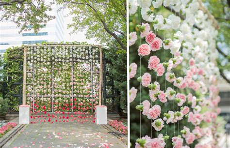 flower wall wedding cost 10 flower walls to make your photos pop fiftyflowers the