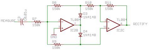 rectifier circuit using op op precision rectifier help electrical engineering stack exchange