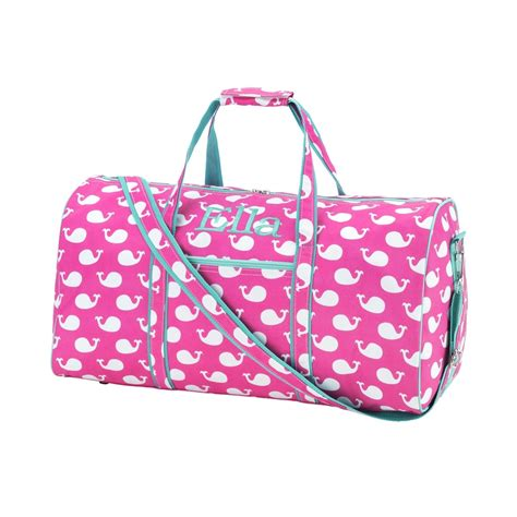 personalized monogrammed 21 quot duffle sports bag