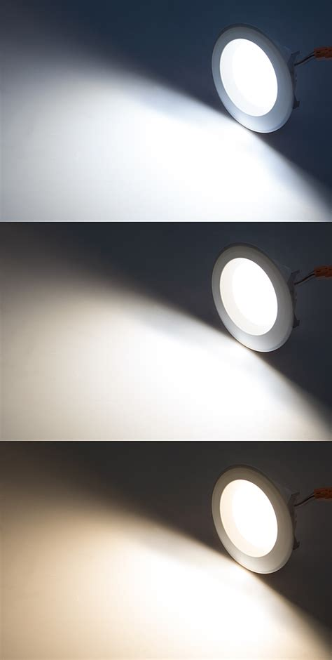 4 led can lights led recessed lighting kit for 4 quot cans retrofit led