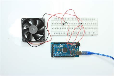 temperature controlled computer fan fritzing project pwm dac fan control