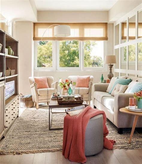 decorar salas pequenas ideas  pinterest