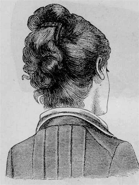 how to cut hair in 1870 1880s hairstyles for 1880 s twisted hairstyle aimee s