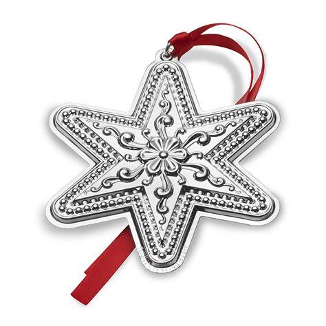 sterling ornaments silver ornament 2017 towle silver