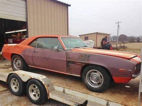 Floor Buffer For Sale Craigslist by Drivable Project 1969 Chevrolet Camaro Z 28 Bring A Trailer