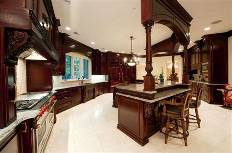 New Jersey Kitchen Cabinets by Plush Stone Mansion In Saddle River 24