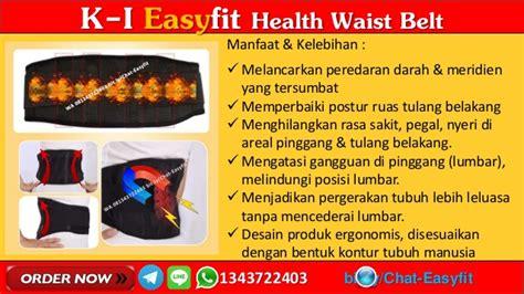 Sakit Pinggang Kiri Belakang Easyfit Health Waist Belt wa 081343722403 k i easyfit waist belt k link